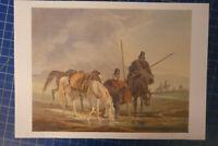 Johann Adam Klein Russische Soldatentypen Tafel Nr.49 Sammlung F.Gauker B25923