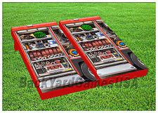 VINYL WRAPS Cornhole Boards DECALS Fire Truck Hose Bag Toss Game Stickers 194
