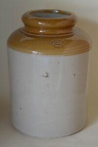 Large Vintage James Pearson Ltd Jar Pot Stoneware Salt Glazed Utensil Holder