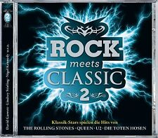 DAVID GARRETT/STIRLING,LINDSEY/KENNEDY,NIGEL/+ - ROCK MEETS CLASSIC 2 2 CD NEW+