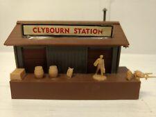 Vintage Ho Maquette Chemin de Fer Bachmann Plasticville Clybourn Station tr736
