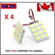 T10 12SMD/Festoon White LED Panel Interior Dome Map RV Light W/Adap Xenon