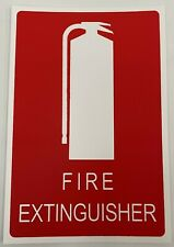 Fire Extinguisher Location Sign- Plastic