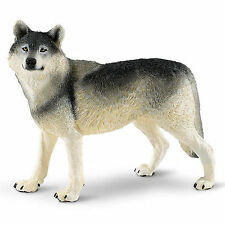 Gray Wolf Wildlife Wonders Figure Safari Ltd New Toys Educational Figurines