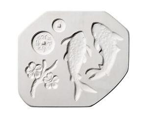 AMACO Koi Sprig Mold, 12 x 6-3/4 Inches