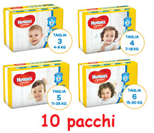 Diapers Huggies Unistar 10 Pacchi Size to choose 3-4-5-6 to Choose