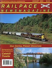 Railpace NewsMagazine August 2004 Vol 23 No 8 Ohio Central Freight Operations