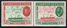 CHILE 1940 PAIR STAMP # 265/6 MNH SHIP EASTER ISLAND ISLA DE PASCUA #3