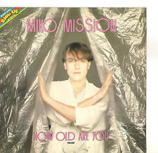 MIKO MISSION - HOW OLD ARE YOU -  SOLO COPERTINA -  ONLY COVER - EX++