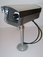 Fake Cctv Decoy Garage Warehouse Spy Security Camera + Blinking Red Light+Decals