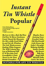 Instant Tin Whistle - Popular   Book Only  Dave: Mallinson