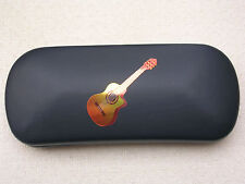 ACOUSTIC GUITAR brand new  glasses case #2  great gift!! for Christmas Birthday
