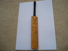 MINIATURE GRAY NICHOLLS 1971 WEST INDIES ORIGINAL LADIES SIGNIATURE CRICKET BAT