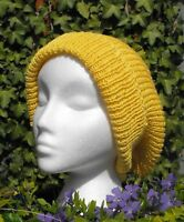 PRINTED KNITTING INSTRUCTIONS-THE SUPER SLOUCH BEANIE HAT KNITTING PATTERN