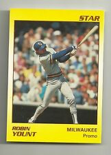Robin Yount 1990 Star Company Milwaukee Brewers Promo Card