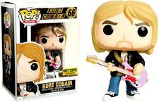 Nirvana POP Rocks Kurt Cobain Vinyl Figure #66 [Black Sweater, Pink Guitar]