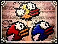 ** Flappy Bird keyring - hand made HAMA mascot **