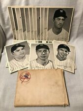 (25) c1949 New York Yankees Picture Pack Signatures MLB Berra DiMaggio Rizzuto