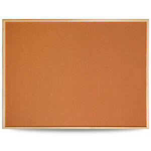 Cork Notice Pin Board Rounded Frame Message Board Memo Office School 1200x900mm