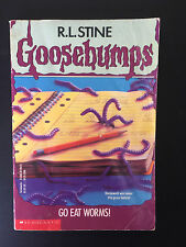 R. L. Stine Goosebumps # 21 go eat worms! ~ FAST free post