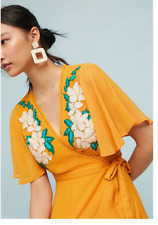 NWT Anthropologie Cleobella Maxine Embroidered Dress Size M