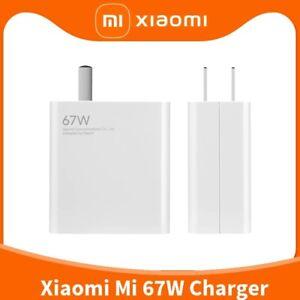 New Original Xiaomi 67W Quick Wall Charger For Xiaomi Mi 11 Ultra Mi 11 Pro