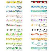 Pretty Art DIY Floral Washi Sticker Decor Roll Paper Masking Adhesive Tape Craft