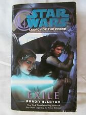 Star Wars: Legacy of the Force - Exile by Aaron Allston 2007 Paperback