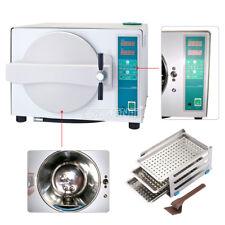 Ups 18l Steam Autoclave Sterilizer Dental Pressure Sterilization Stainless Steel