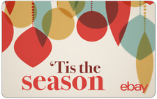 'Tis the Season eBay Digital Gift Card - $25 to $200 - Email Delivery