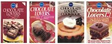 Pillsbury CHOCOLATE LOVERS Cookbooks Lot of 4 Irresistible & Delicious Recipes