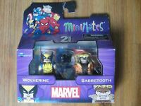 Diamond Select Marvel Minimates WOLVERINE & SABRETOOTH Figures Brand New