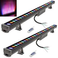 "39"" Stage Lighting Bar Led Rgb Wall Wash Bar Light Dj Disco Show Display 2 Packs"