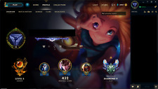 League of Legends Account - EUW Diamond - ALL CHAMPIONS, +120 SKINS, ALL RUNES