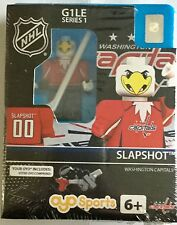 Washington capitals lancer frappé mascotte nhl oyo brick toy action figure