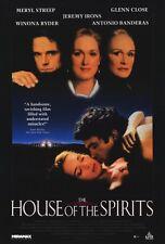 THE HOUSE OF THE SPIRITS Movie POSTER 27x40 C Meryl Streep Jeremy Irons Glenn