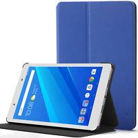Lenovo Tab 4 8 Case, Cover, Thin & Light | Blue + Stylus & Screen Protector