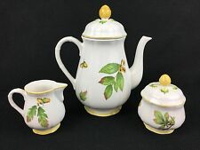 Villeroy & Boch Parkland Coffee Pot Creamer and Covered Sugar Bowl