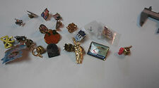 Lot of 20 mostly patriotic hat pins all in great ready to wear condition    T143