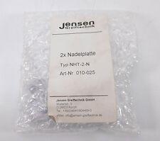 Jensen aiguille plaque nht-2-n (paire) neuf emballage d'origine scellé