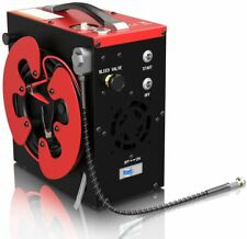 GX-CS3 PCP Air Compressor,4500Psi 30Mpa Auto-Stop Oil-Free,Water-Oil Separator