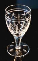 Beautiful Stuart Crystal Tamara Claret Wine Glass