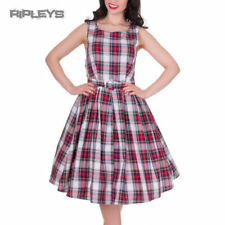 Plus Size Checked Party Dresses for Women