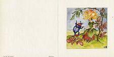 Antique Rare Ida Bohatta: Flower Fairies: YELLOW ROSE MAIDEN Greeting Cards 6557