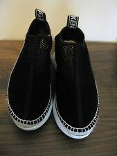 KENZO Black Mesh Slip On Platform Shoes/Sneakers  Sz 40 Made in Spain
