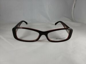 NEW Authentic Burberry Eyeglasses B 2119 3337 Red/Checkered 51*16 135 Frames