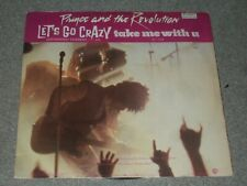 Prince And The Revolution ‎– Let's Go Crazy / Take Me With U   1985