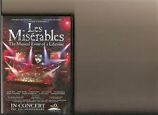 LES MISERABLES IN CONCERT 25TH ANNIVERSARY EDITION DVD O2