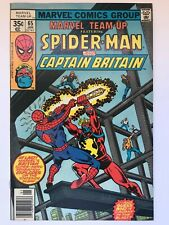 Marvel Team-Up #65 - 1st Captain Britain in US Arcade Amazing Spider-Man NM