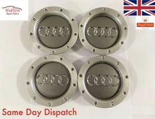4x Audi RS4 TT Wheel Centre Caps Hub Caps 147mm A4 A5 A6 A8 OEM 8D0601165K